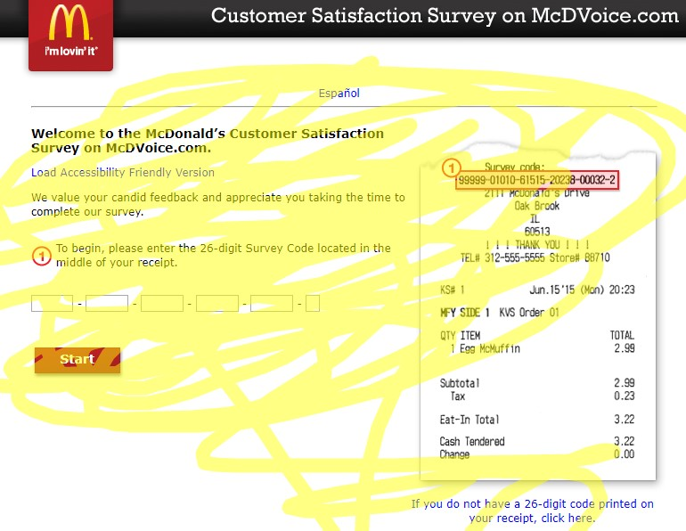 mcdovice survey rules