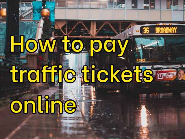 What is NJMCdirect & How to pay traffic tickets online?